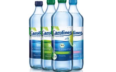 Qualitätsgemeinschaft Bio-Mineralwasser zeichnet Carolinen mit Bio-Mineralwasser-Siegel aus