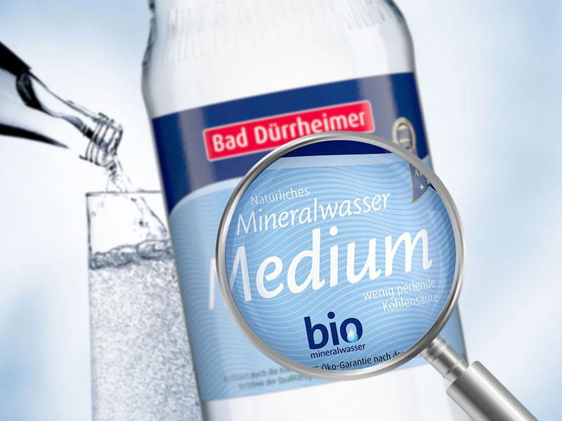 Bad Dürrheimer Mineralbrunnen erhalten Bio-Mineralwasser-Siegel