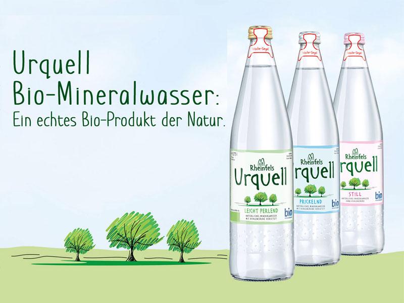 Qualitätsgemeinschaft Bio-Mineralwasser zeichnet Getränkegruppe Hövelmann als 10. Lizenznehmer mit Bio-Mineralwasser-Siegel aus
