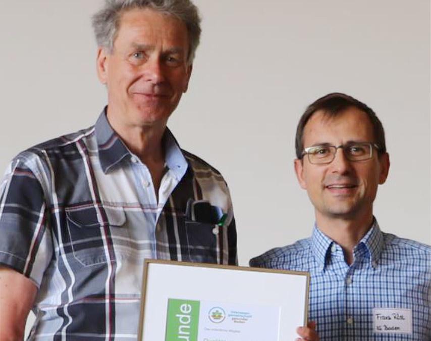 Bio-Mineralwasser ist neues Mitglied der IG gesunder Boden