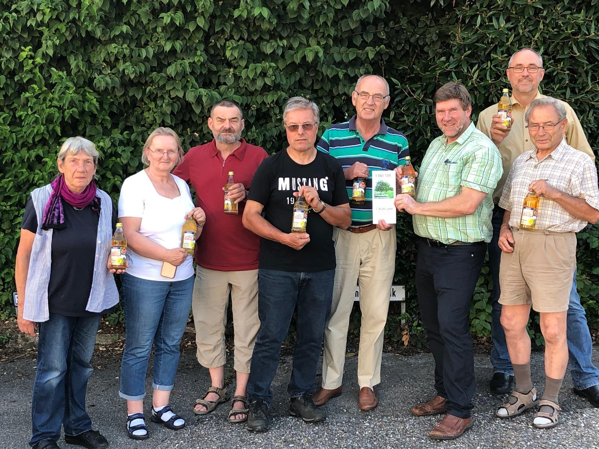 2019 erhielt die Ensinger Streuobst Apfel-Schorle bei der landesweiten Prämierung von Streuobstgetränken den 1. Preis.